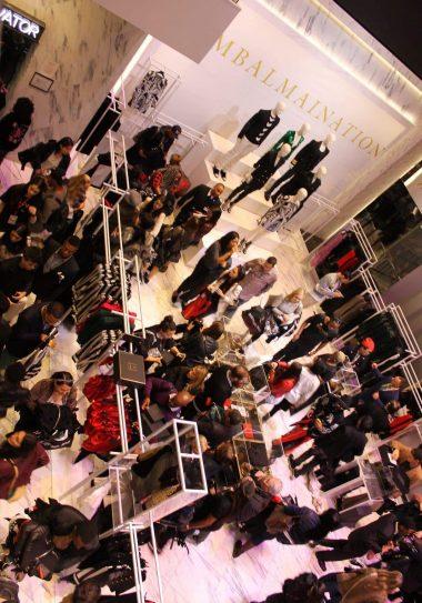 Pure Balmainia At The Balmain x H&M Launch