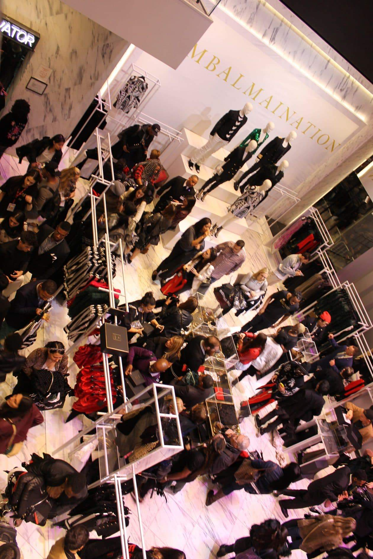 Liz Black attends the H&M x Balmain Collection Shopping Launch