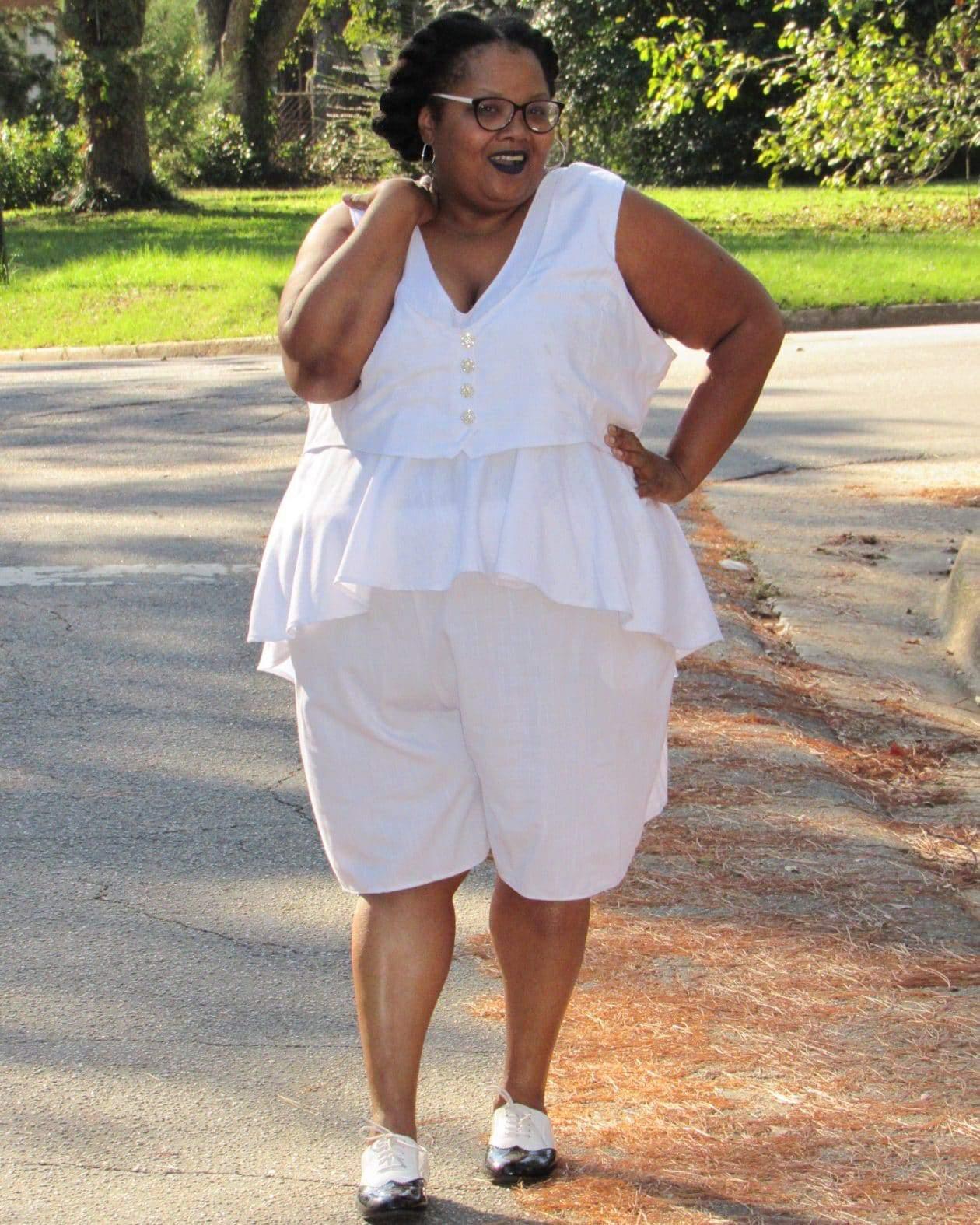 Maui Bigelow of PHAT Girl Fresh wearing Diva By Tameka