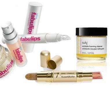 Lip Scrub + Balm Duos = This Season's Life Savers