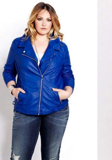 Plus Size Leather Coats to Help You Keep Your Cool
