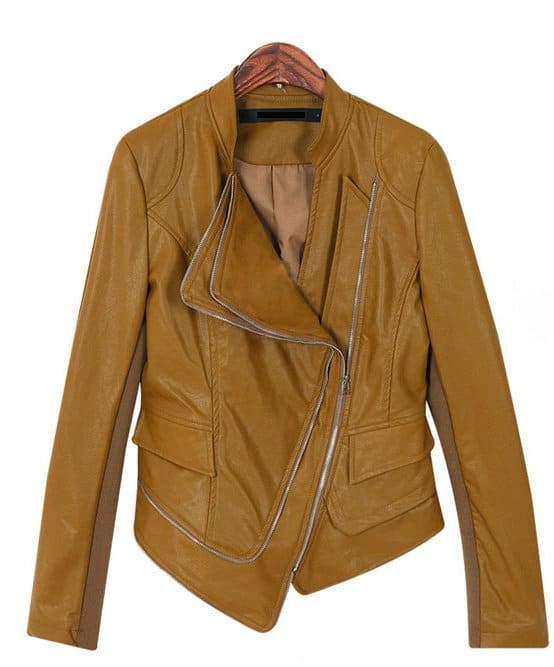 Leather Jacket #268