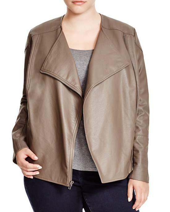 Irene Faux Leather Jacket
