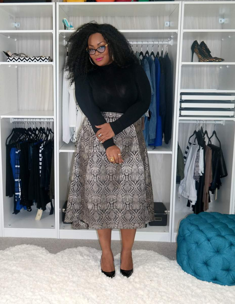 Plus Size Blogger- Marie Denee from The Curvy Fashionista