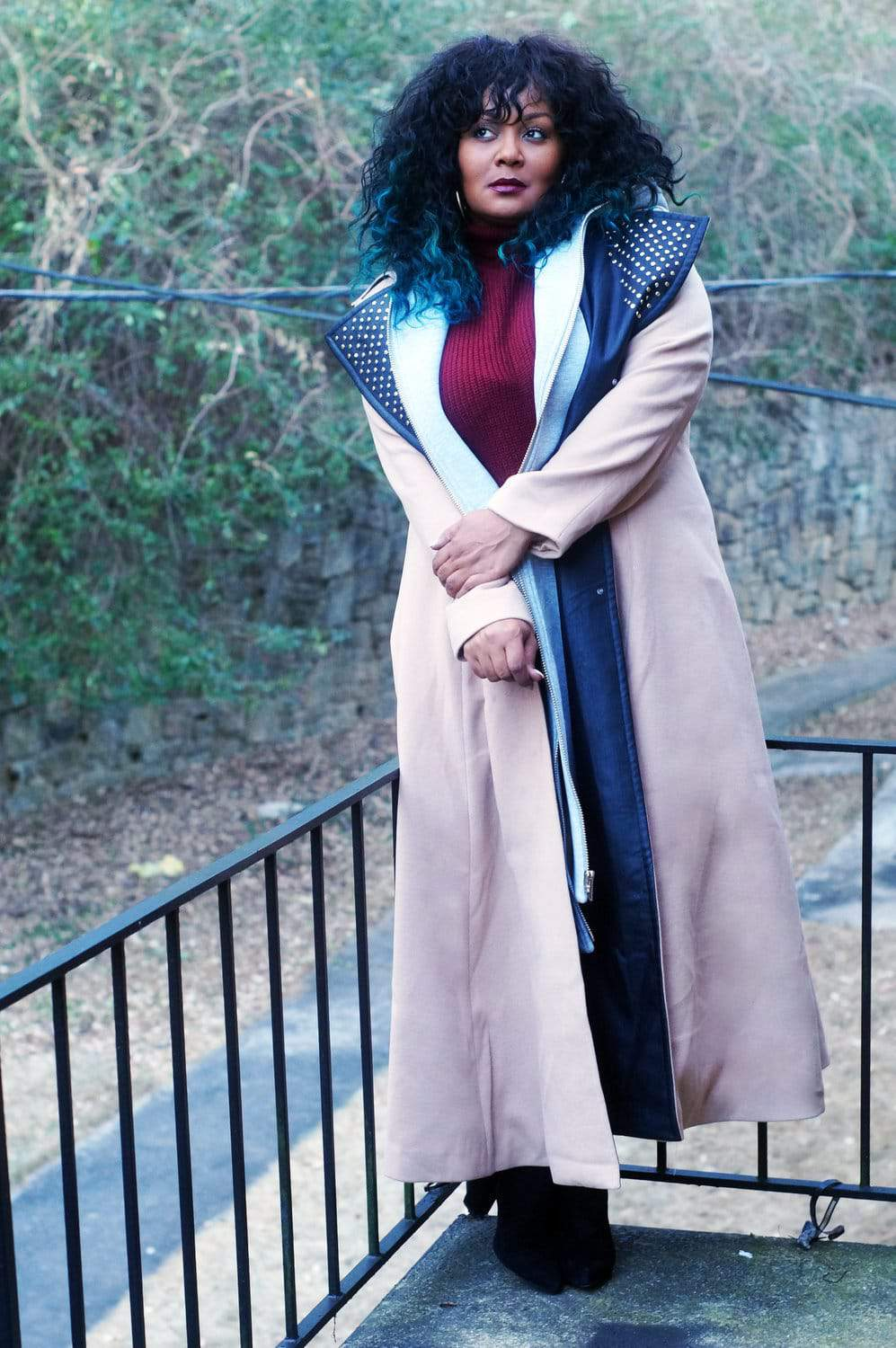 Marie Denee- The Curvy Fashionista in Eleven 60 and Forever 21