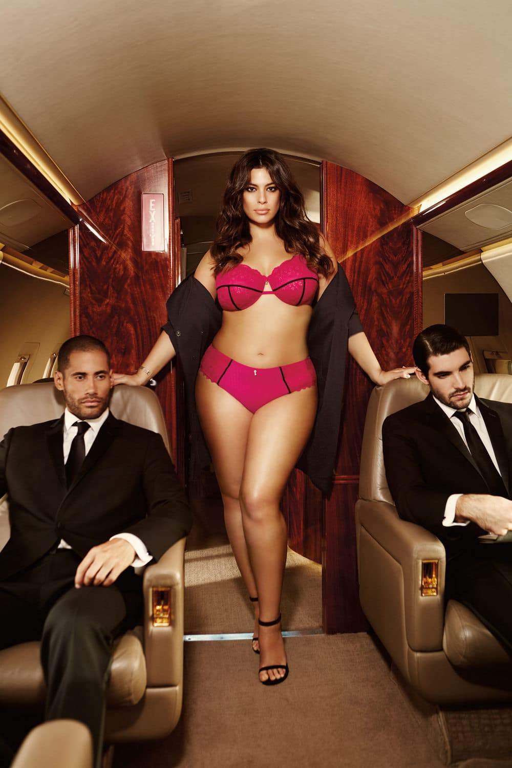 Ashley Graham Launches her 8th Lingerie Collection with Addition Elle
