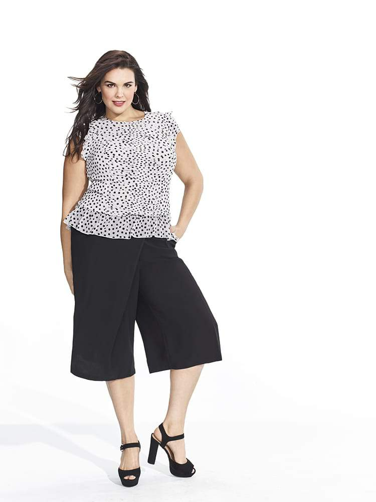Who What Wear x Target Collection The Plus Size Looks Look 10
