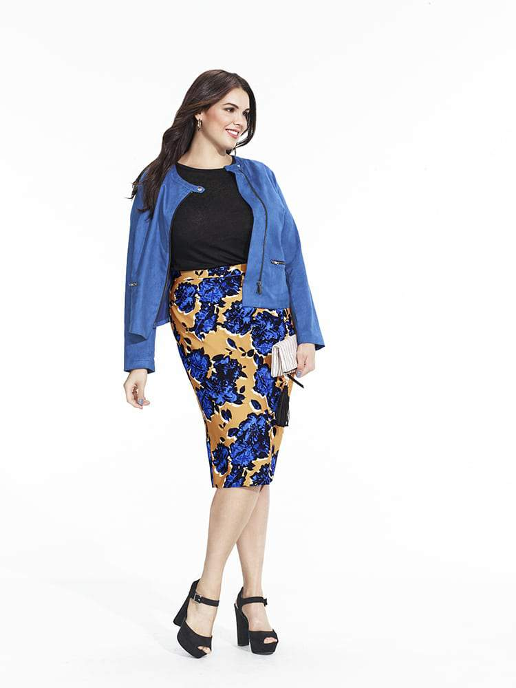 Who What Wear x Target Collection The Plus Size Looks Look 1