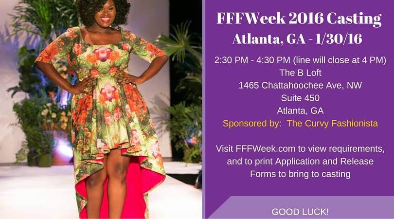 FFFWeek Casting Flyer