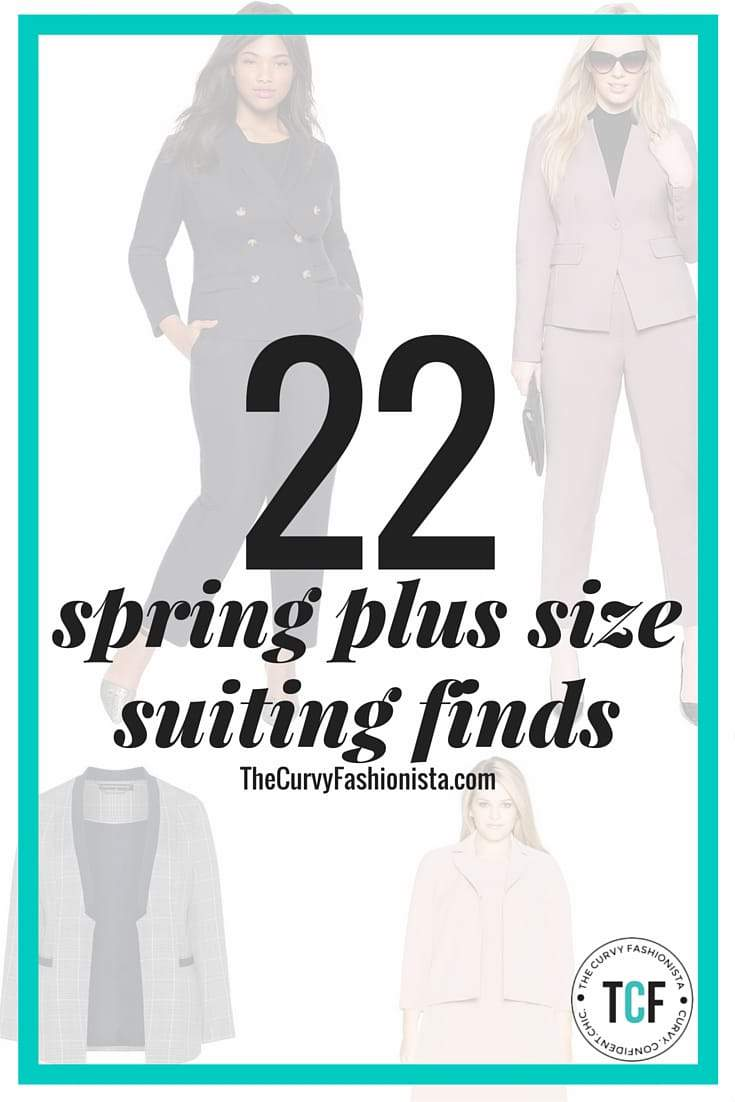 Chic and Polished Plus Size Suiting Finds