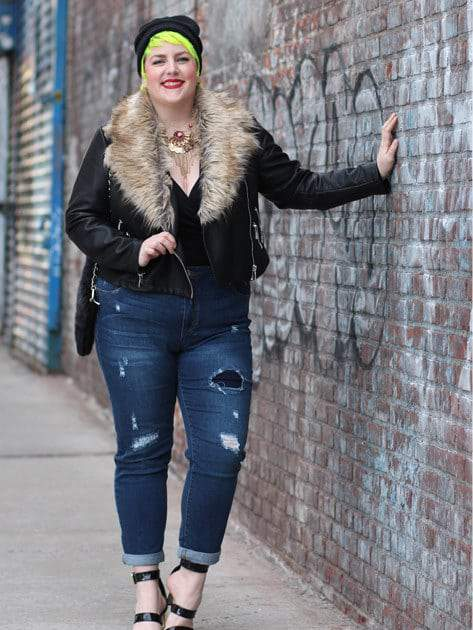 Simply Be Plus Size Denim Campaign- Show Us Your Sass with Margie from Margie Plus