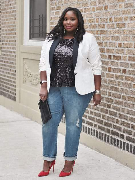 Simply Be Plus Size Denim Campaign- Show Us Your Sass with Alissa from Stylish Curves