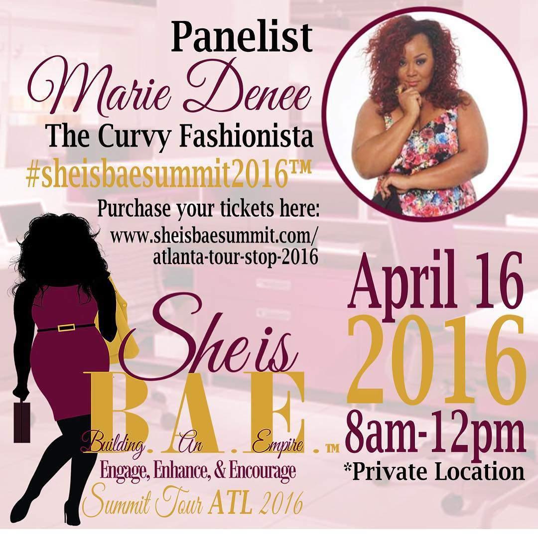 She is BAE Summit Tour Atlanta