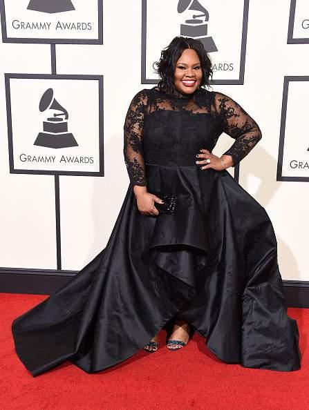 Tasha Cobbs at the 58th Grammy Awards