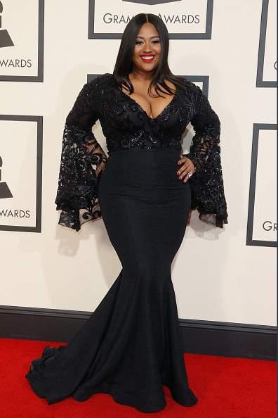 Jazmine Sullivan at the 58th Grammy Awards