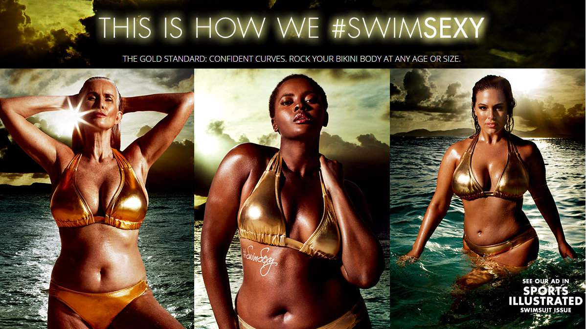 Swimsuits for All- Sports Illustrated Ad