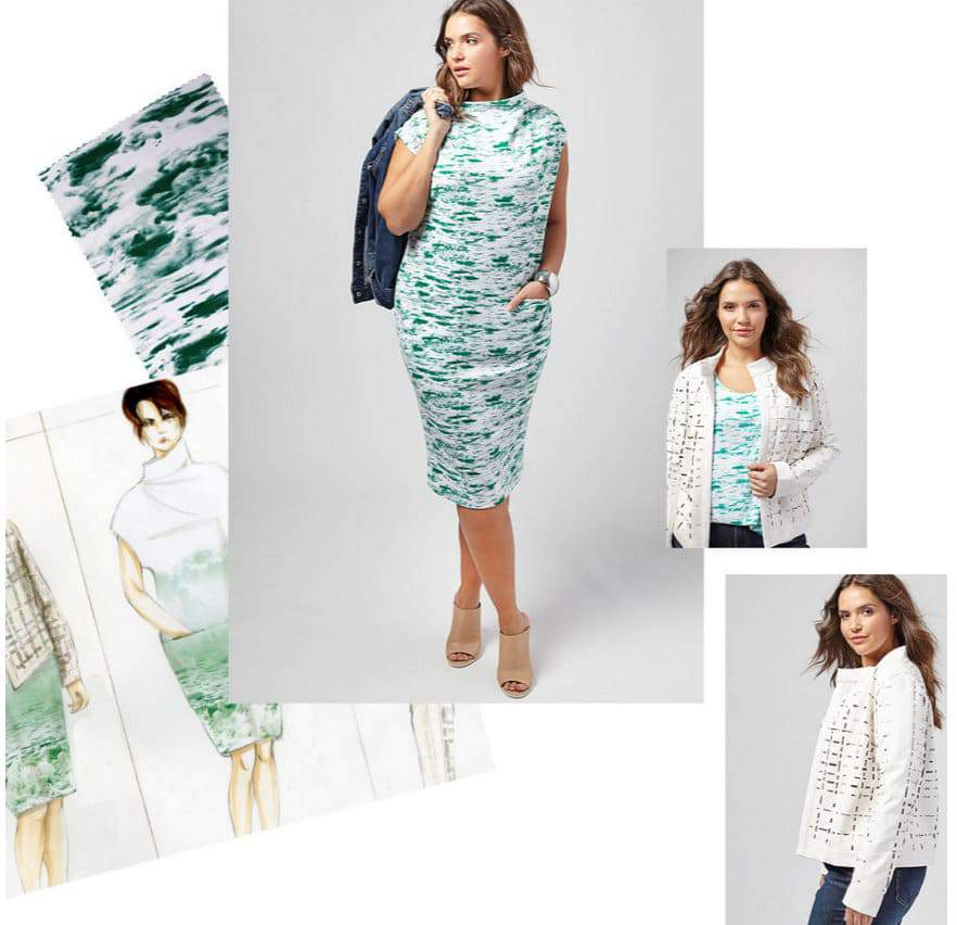 First Look at the Otis Collection for Lane Bryant