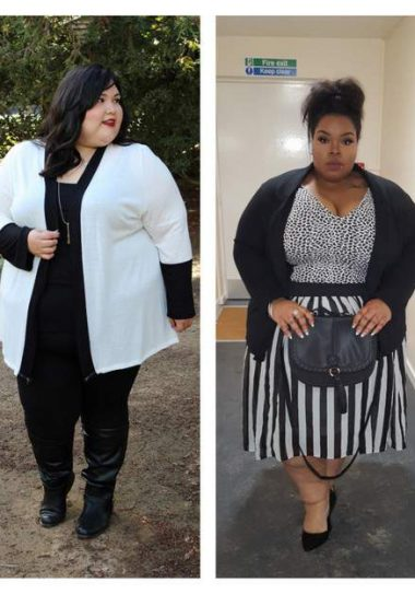 15 Non-Hourglass Plus Size Fashion Bloggers To Know!