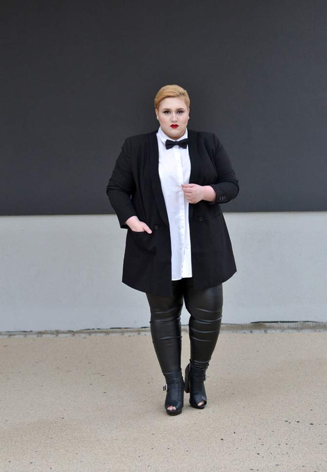 15 Non-Hourglass Plus Size Fashion Bloggers- Dressing Outside the Box