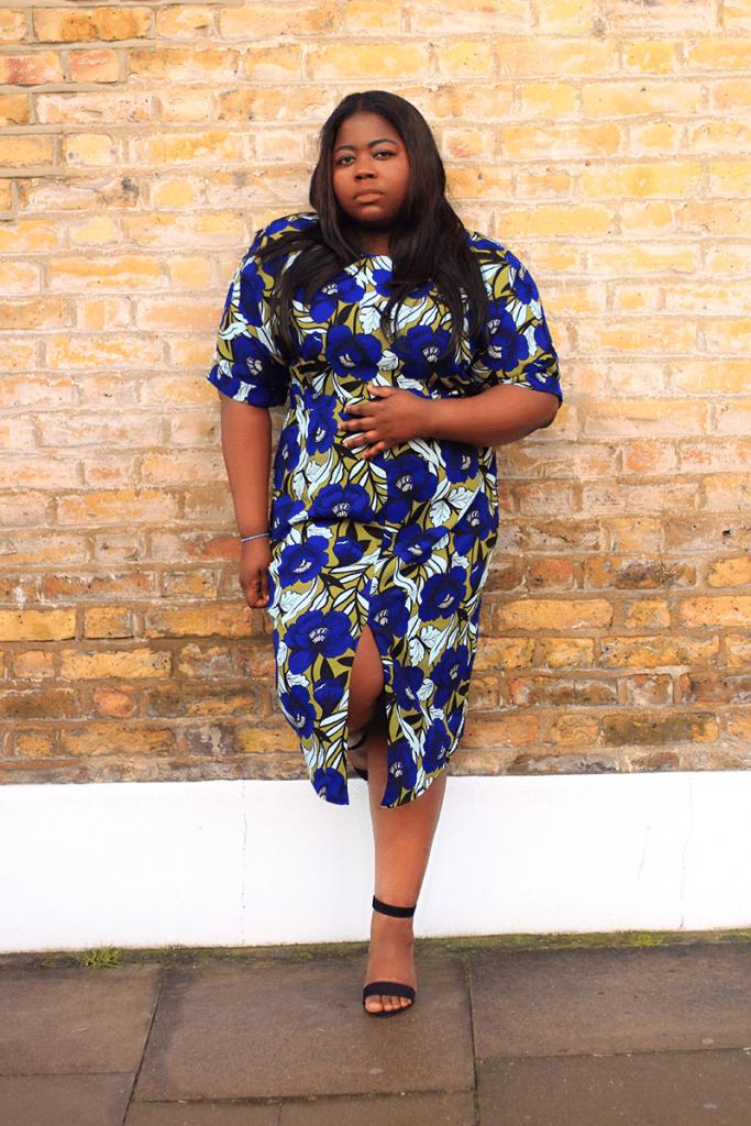 15 Non-Hourglass Plus Size Fashion Bloggers- Stephanie Yeboah