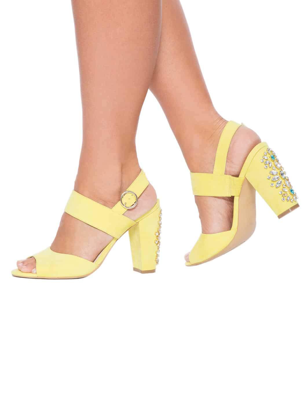 Lizzy block heel model