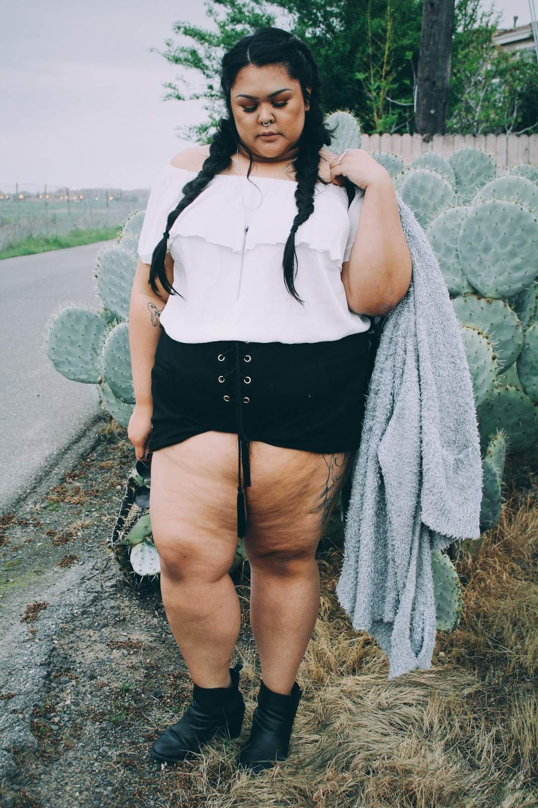 12 Plus Size Bloggers to Follow: Shameless Cr3ature