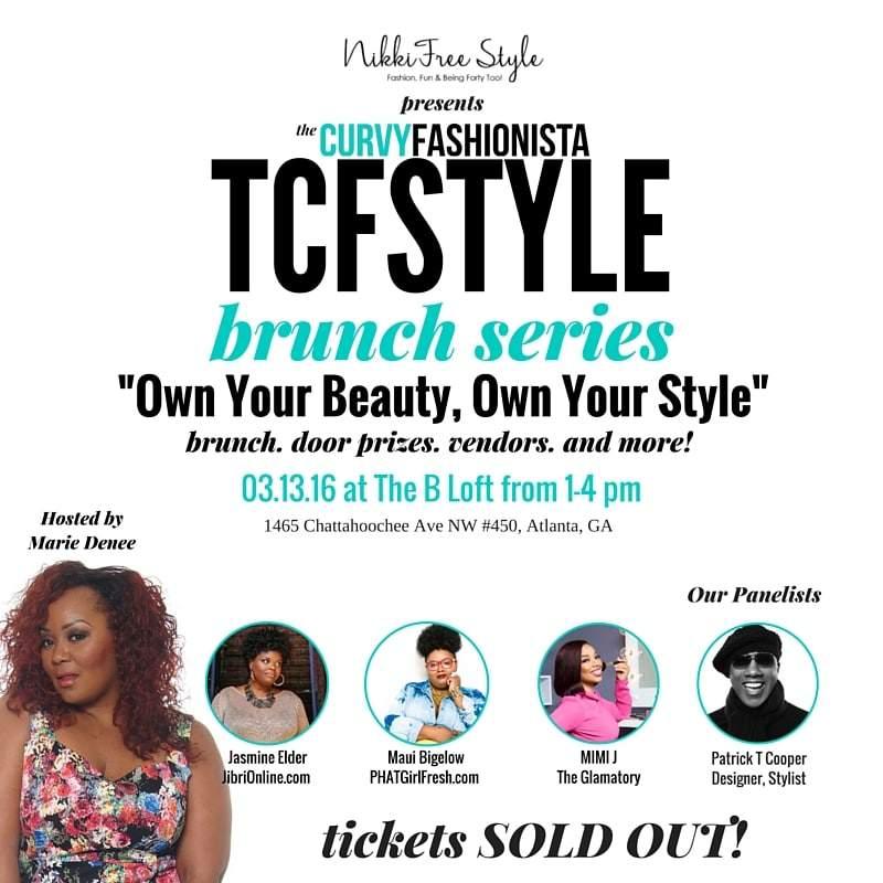 Around Atlanta My First TCFStyle Brunch Series