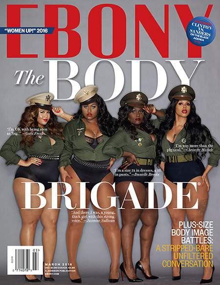 Ebony March Cover- The Body Brigade Issue