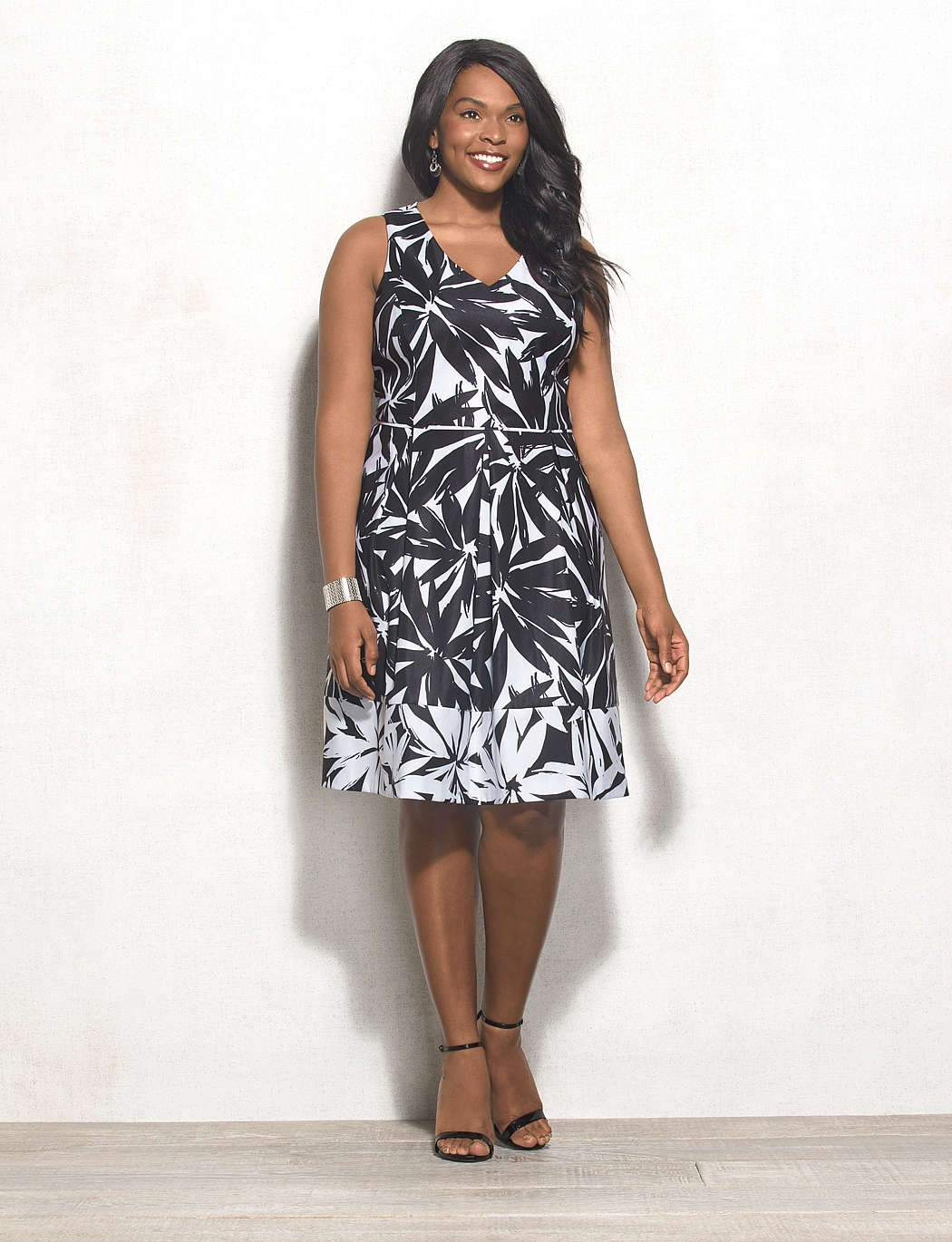 Beyond By Ashley Graham for DressBarn- The Floral Dress
