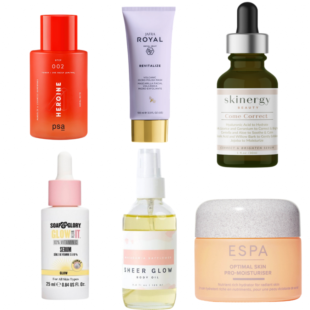 Glowing Skin By Spring!