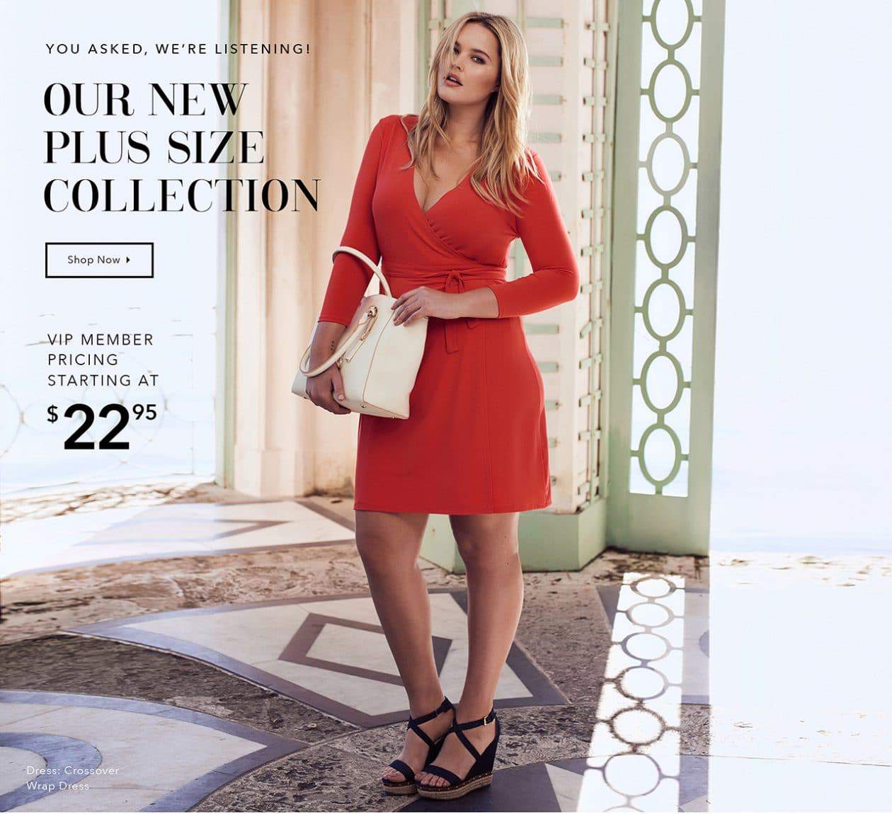 Just Fab Plus Size Collection