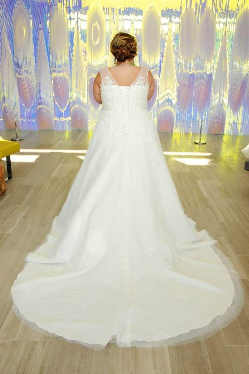 BridesByYoungPlusSizeWeddingDresses-15022R-Back