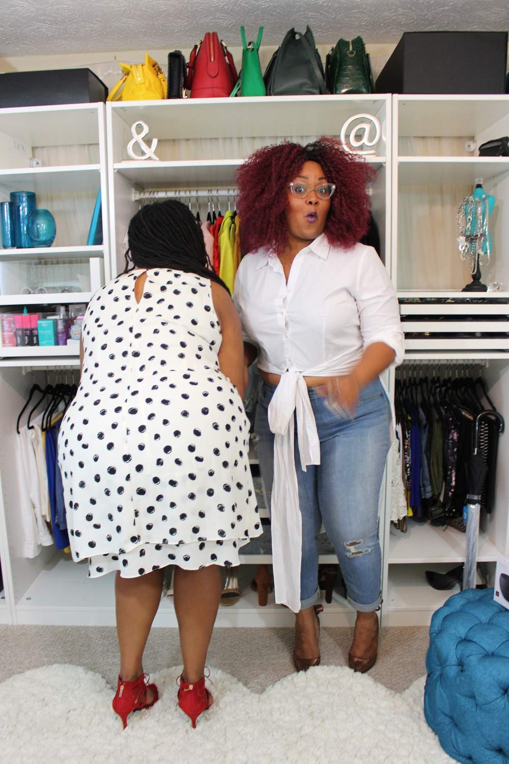 Shaina of A Thick Girls Closet and Marie Denee of the Curvy Fashionista (2)