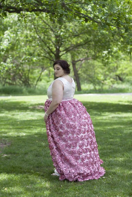 The Hannah Caroline Plus Size Bridal Collection- Garden Dreams