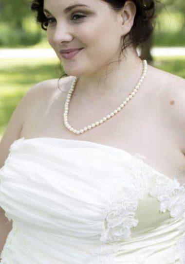 The Hannah Caroline Plus Size Bridal Collection Garden Dreams