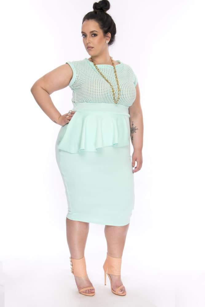 Plus Size Designer- Christian Omeshun Cosmo Collection