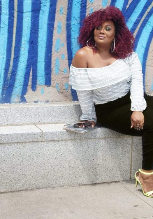 3 Ways To Rock Black Plus Size Jeans and My Old Navy Denim Campaign