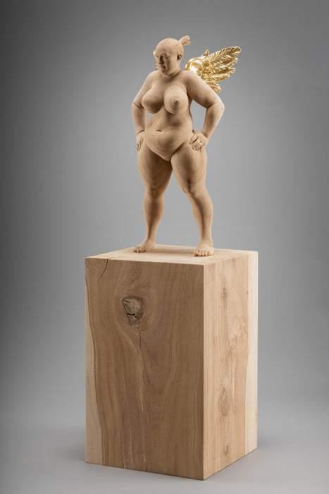 Matthias Verginer- Plus Size Art Basejumper