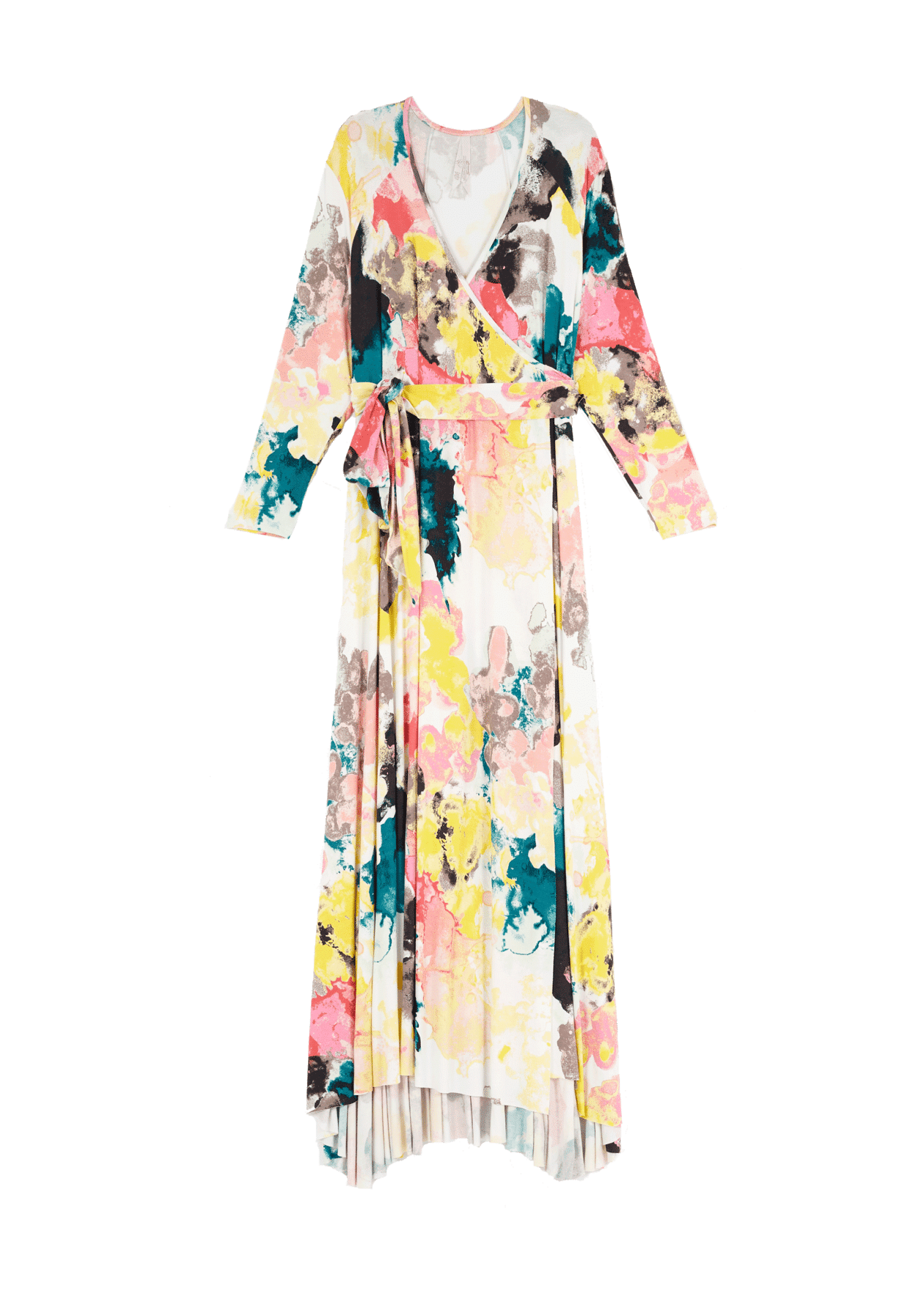 Painted Cloud Wrap Dress at MelissaMcCarthy