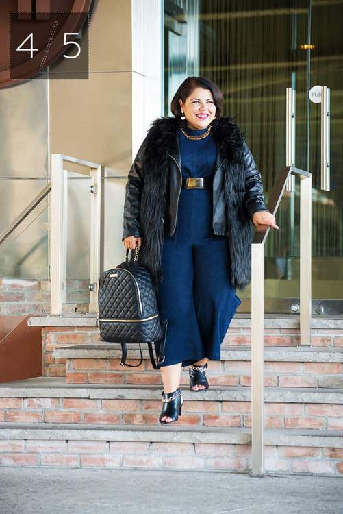 Eloquii Petite Plus Collection featuring Darlene of Suits Heels and Curves