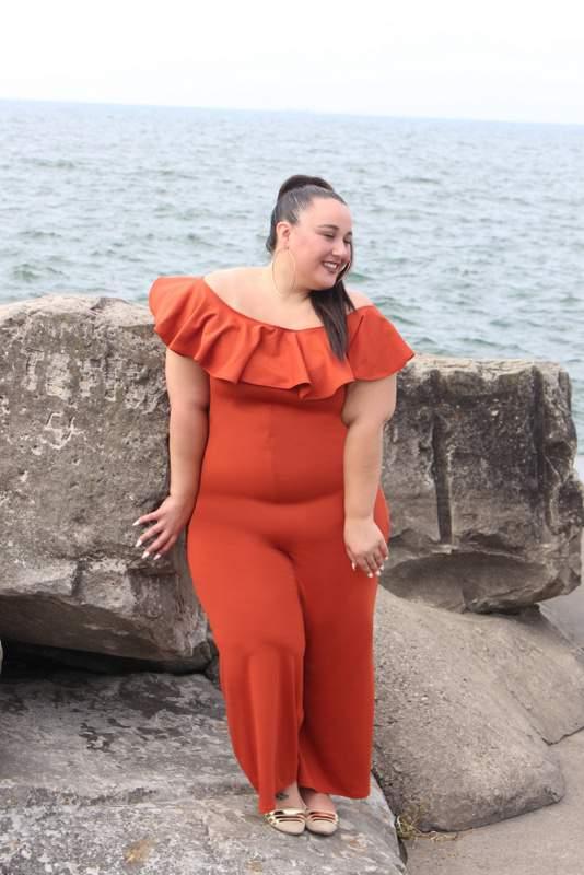 The Christian Ome'Shun Cosmopolitan Plus Size Fall Edition
