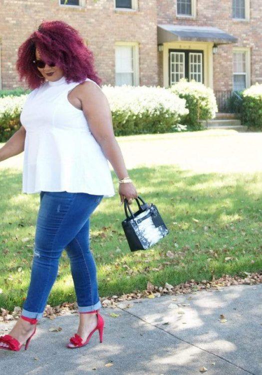 Marie Denee- The Curvy Fashionista in Curvy Sense plus size