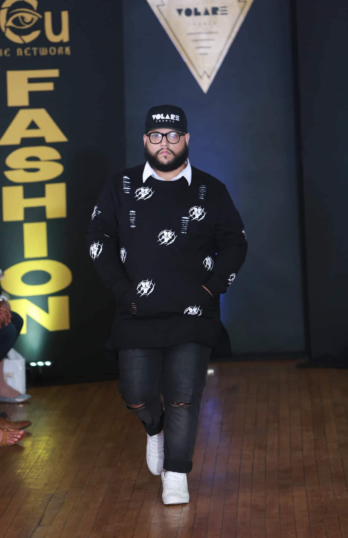 Big & Tall Menswear Collection- Volare at NYFW