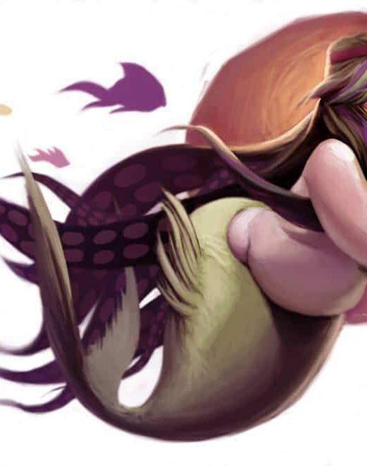 Blake Inobi Plus Size Mermaid Illustration