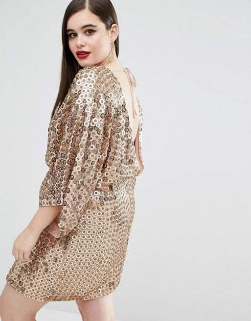 Sequins Dress- ASOSCurve