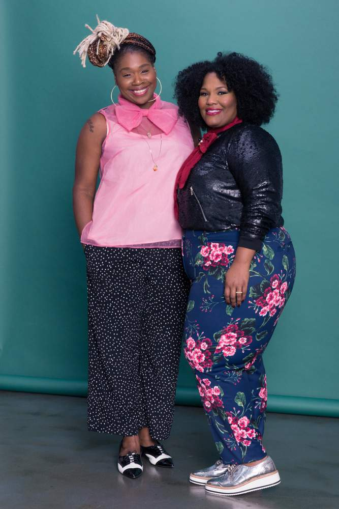 Eloquii's Viola Fit for the Plus SIze Woman with fuller hips