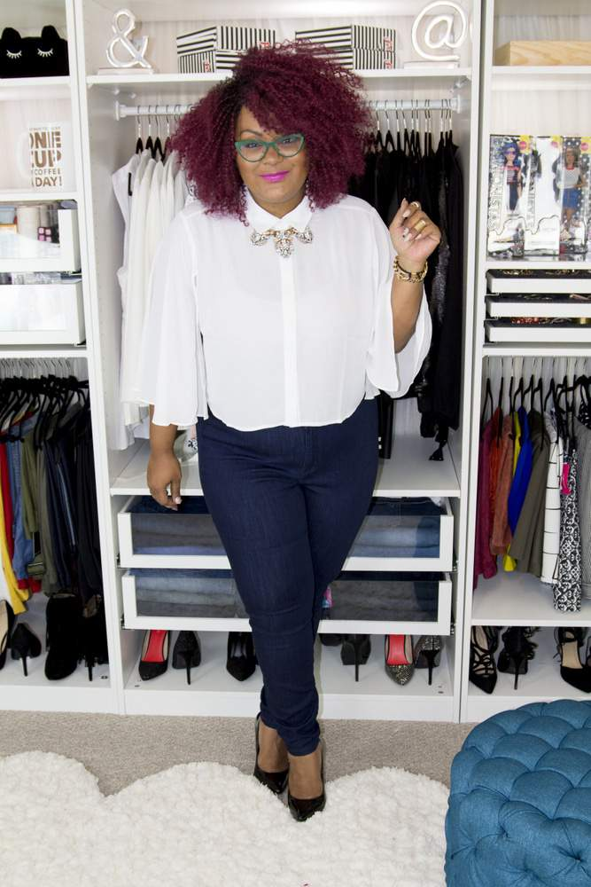 Marie Denee, The Curvy Fashionista in Ashley nell Tipton for JCPenney