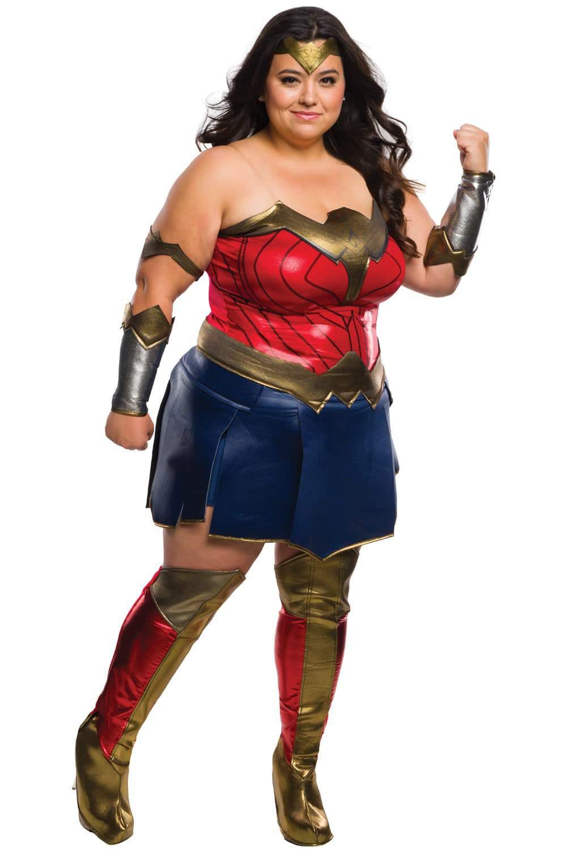 Deluxe Wonder Woman Plus Size Costume