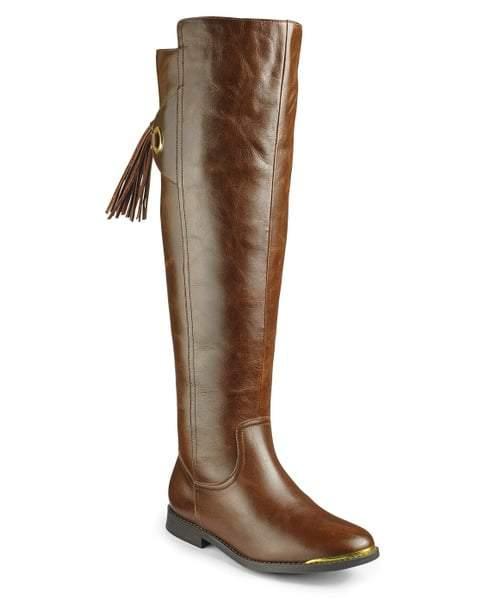 Sole Diva High Leg Wide Calf Riding Boots