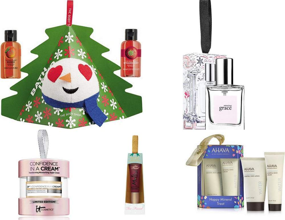 Holiday Beauty Ornament Gifts